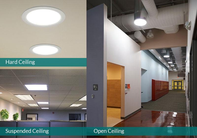 SunCurve ceiling diffusers