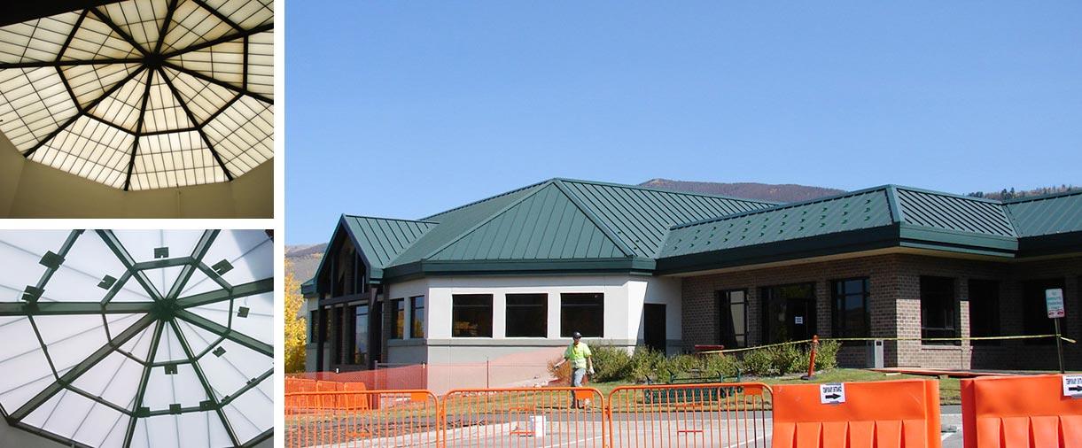 Silverthorn Rec Center Failed Fiberglass Skylight