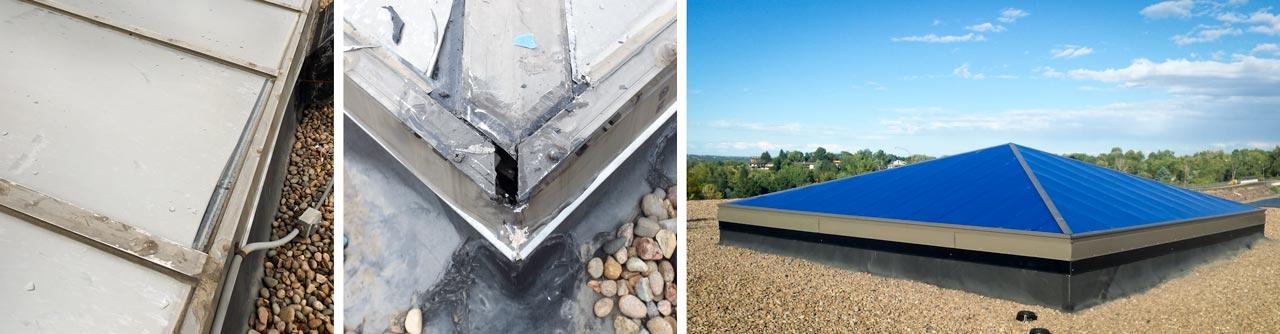 Consolidated Mutual Water Company pyramid skylights