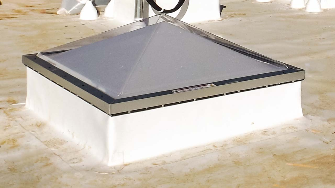 Pyramid Lens Skylight