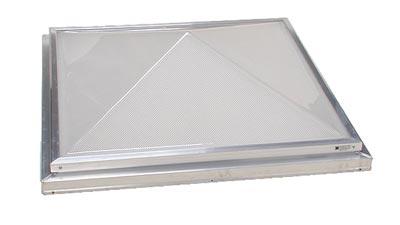Pyramid Lens Skylight