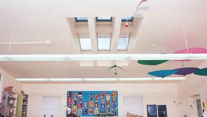 Foothills Academy School Skylights