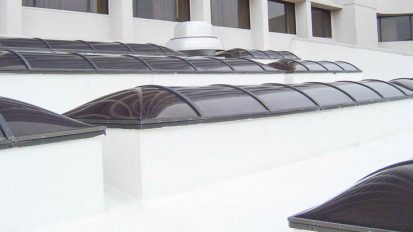 Marriott Hotel – Custom Shaped Skylight