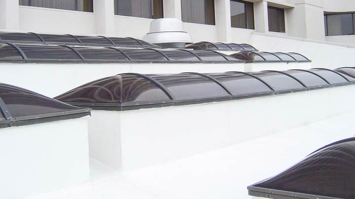 Nasheville Marriott Custom Shaped Skylight