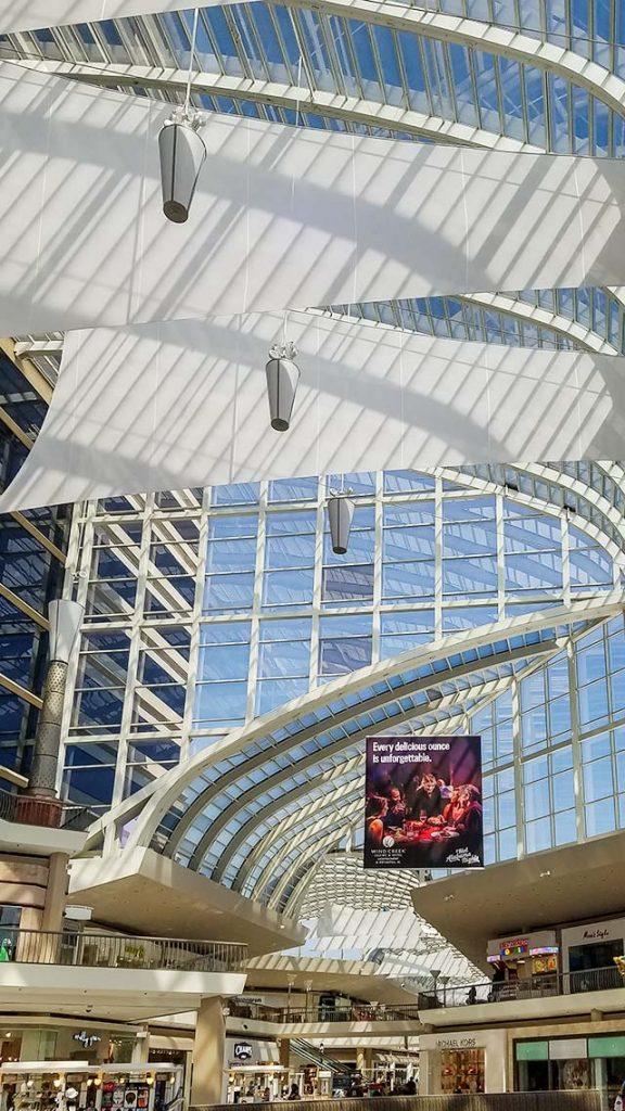 Riverchase Galleria skylight repair 18090-102042