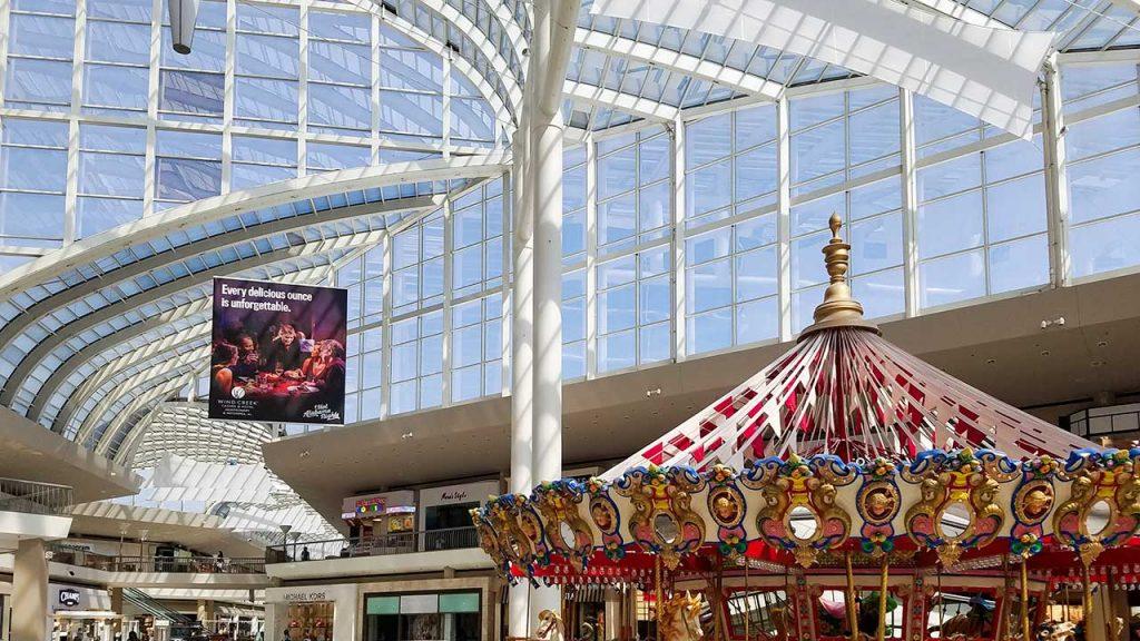 Riverchase Galleria skylight repair 18090-102051