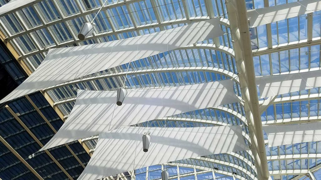 Riverchase Galleria skylight repair