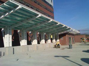 CPI Daylighting canopy at hospital