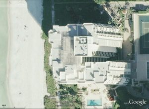 Satellite Image of Monumental Skylight before replacement.