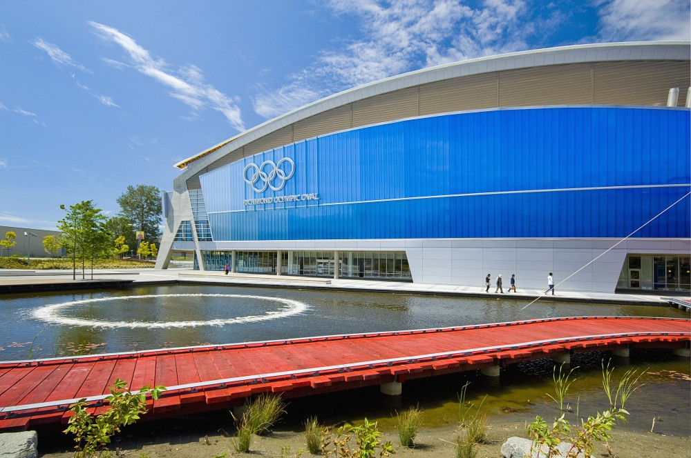 """Richmond Olympic Oval Receives """"Building of the Year"""" Sports Category"""