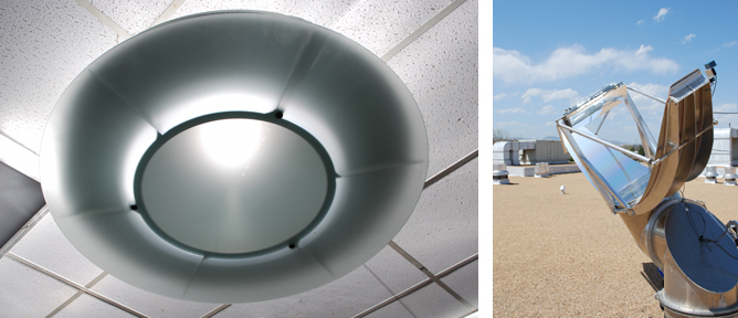 Sundolier skylight pump manufactured in Boulder, CO by Sunflower.