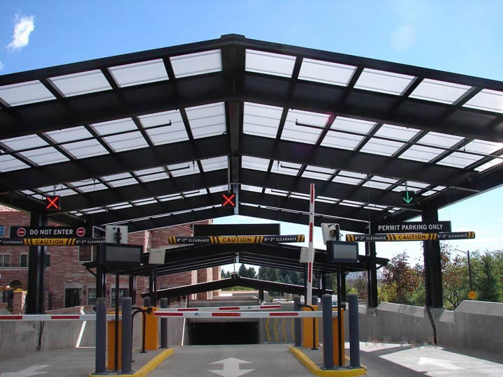 Clearspan canopy
