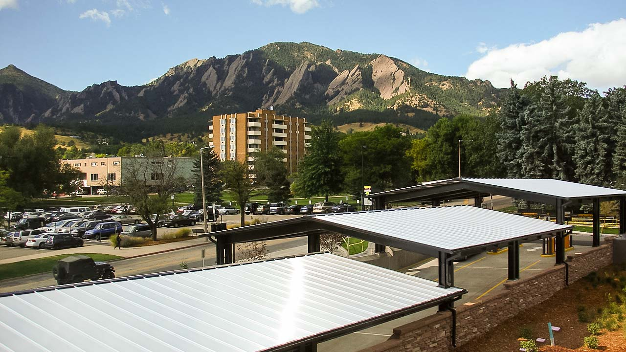University Colorado Translucent Canopy