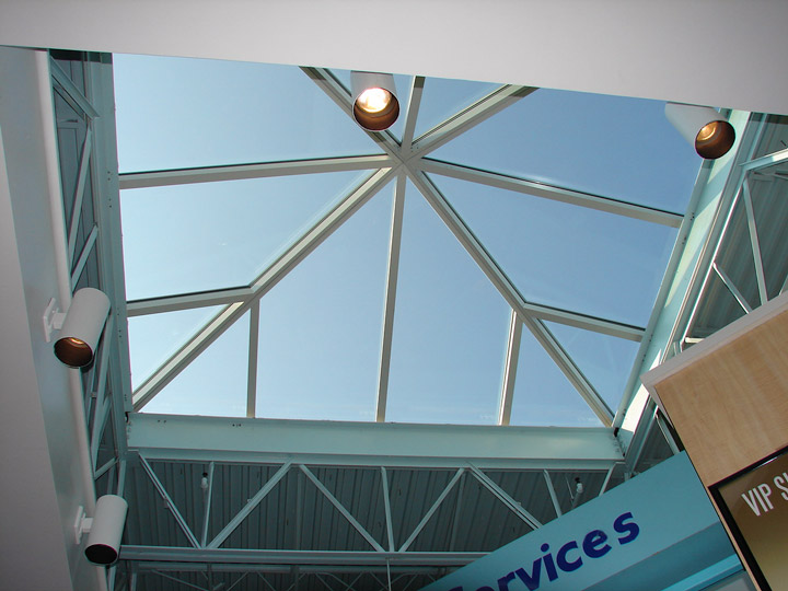 Premium Outlets Mall Skylight Replacement-5835
