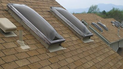 Condominium Dome Skylight Replacement