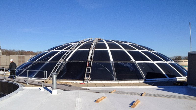Bryant dome skylight repair skylight specialists inc for Architectural skylight