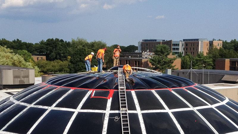 Bryant-Dome-Skylight-Repair