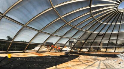 Bryant University Dome Skylight Retrofit