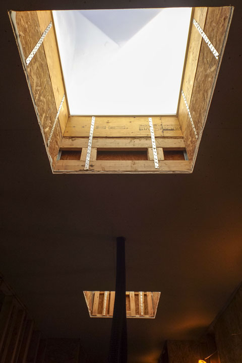 Skylights for new assisted living facility commercial for Skylight framing
