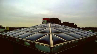 CPI Pyramid Skylight Retrofit – St James Hospital