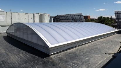 CPI Barrel Vault Skylight Retrofit for the Iliff Building