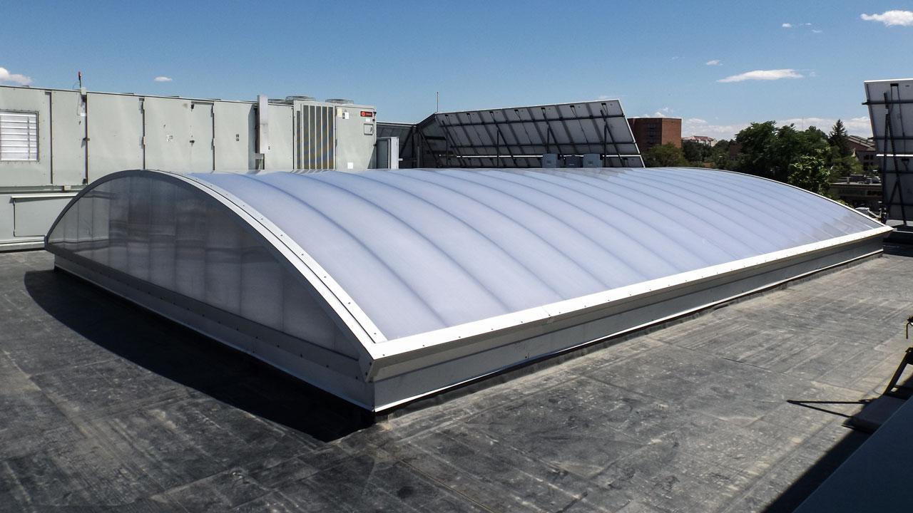 CPI Barrel Vault Skylight Retrofit for the Iliff Building