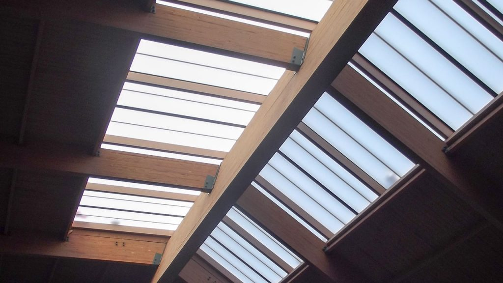 failed fiberglass skylight 0040