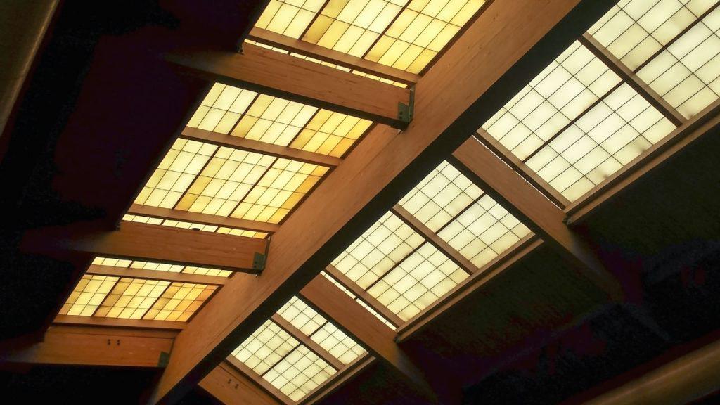 failed fiberglass skylight 100701