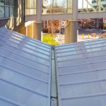 New Translucent Entrance Canopy Craig Hospital East