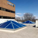 Pyramid Skylight Retrofit – Chase Bank of Loveland