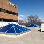 Pyramid Skylight Retrofit – Chase Bank of Loveland