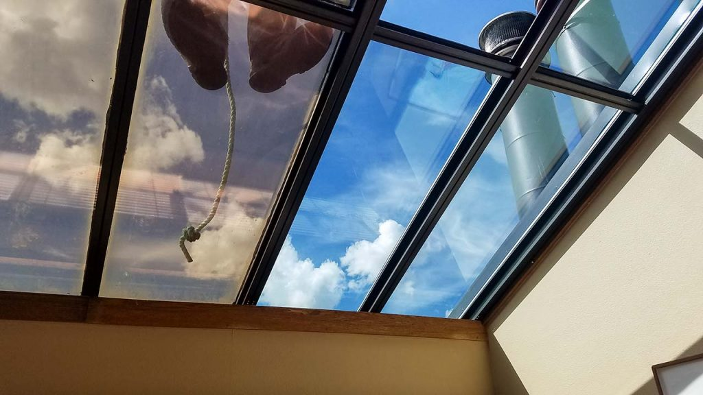 re-glaze skylight 23778-102915