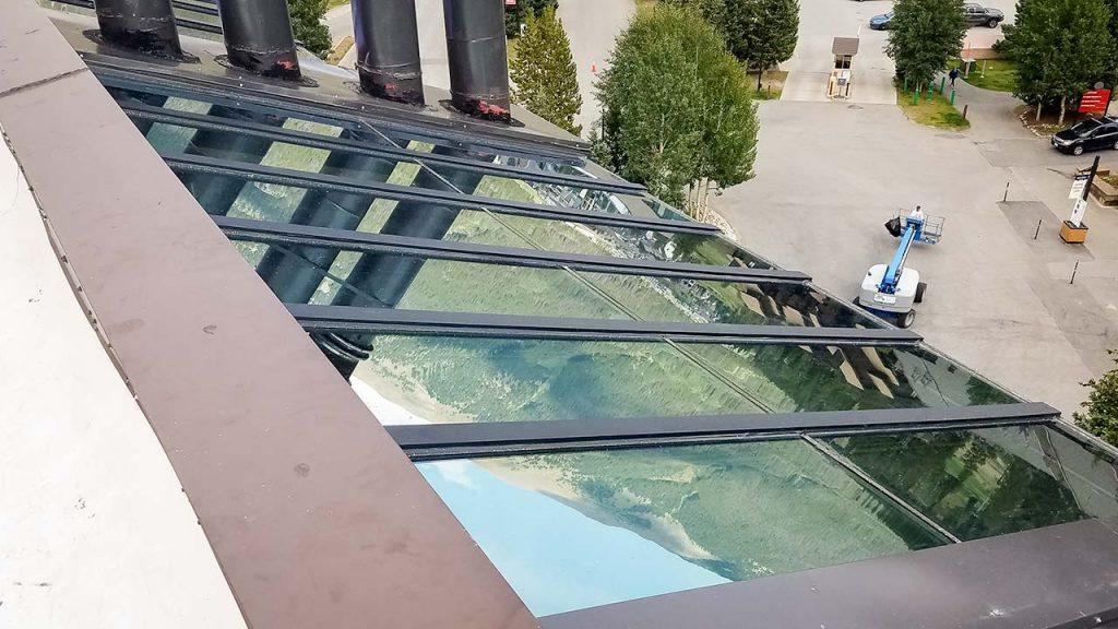 re-glaze skylight 23778-160636