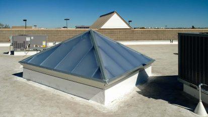 Pyramid Skylight | Aurora Federal CU
