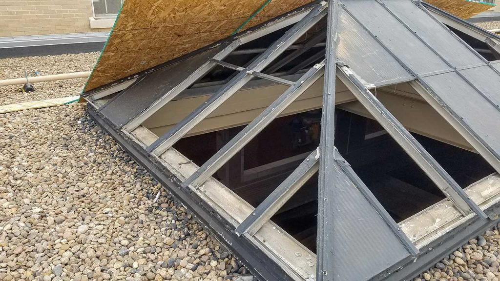 glass pyramid skylights 26107 102717 2