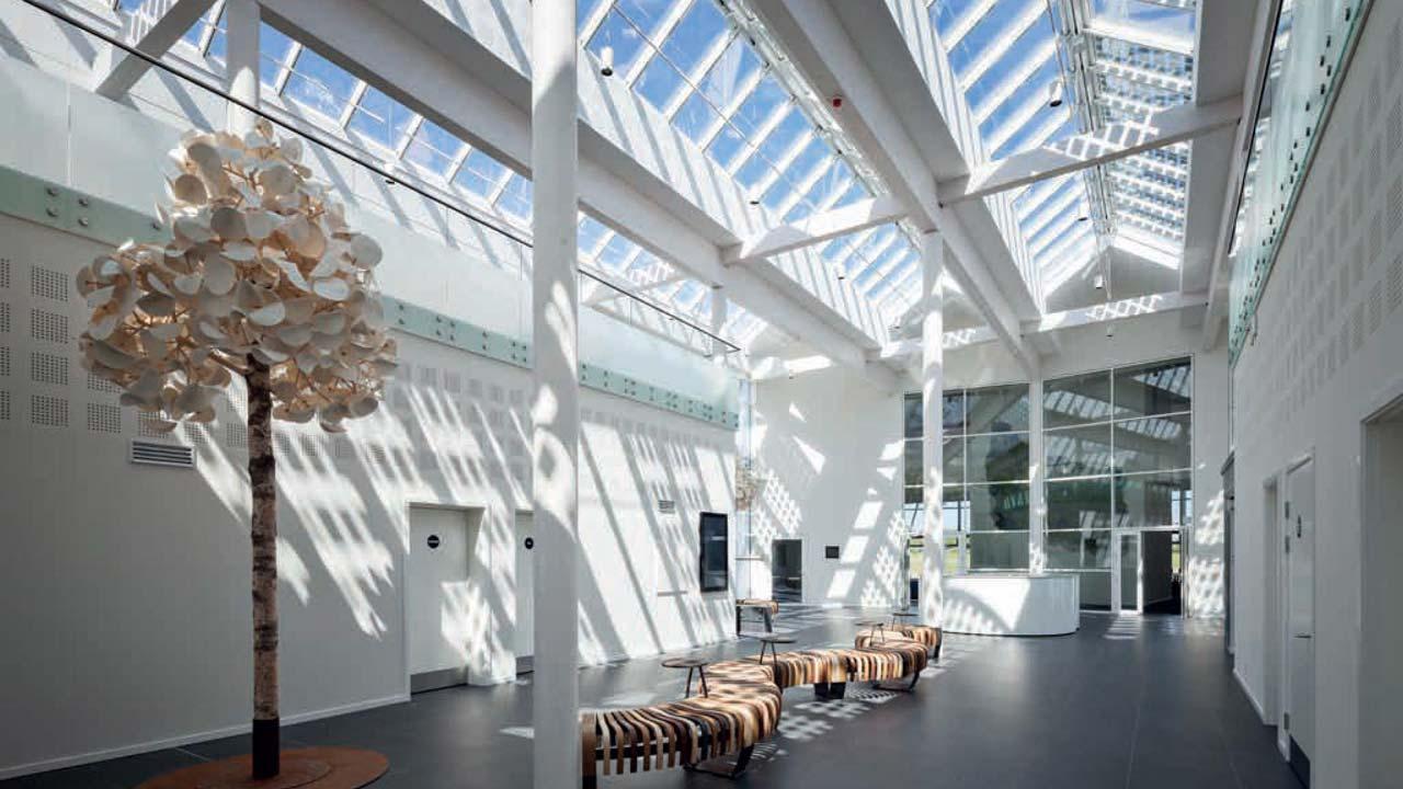VMS atrium ridgelight Green Solution