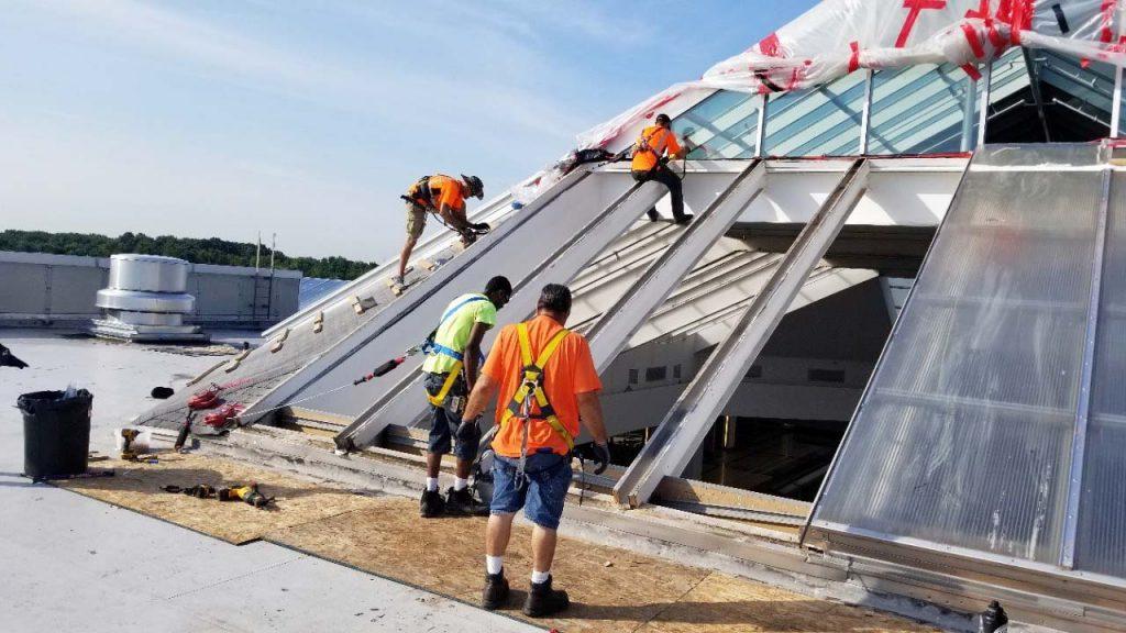 Quaker Bridge Mall skylight 24602-085344