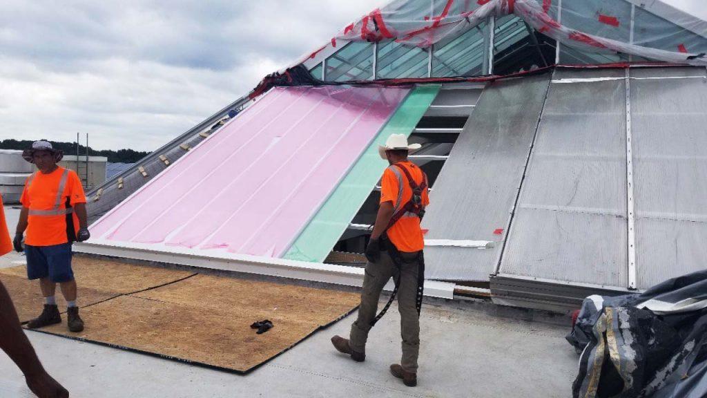 Quaker Bridge Mall skylight 24602-110406