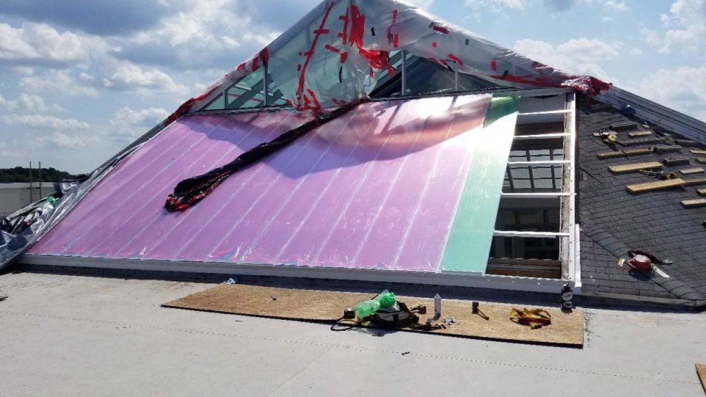 Quaker Bridge Mall skylight 24602-143300