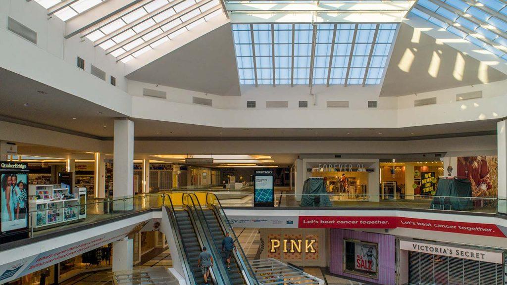 Quaker Bridge Mall atrium skylight 24602-1