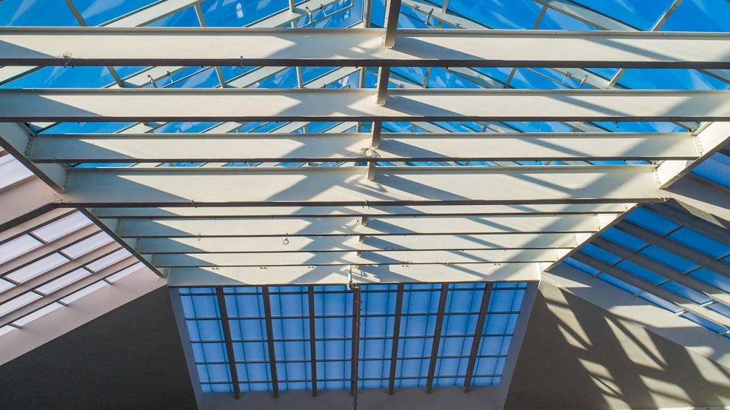 Quaker Bridge Mall atrium skylight 24602-36