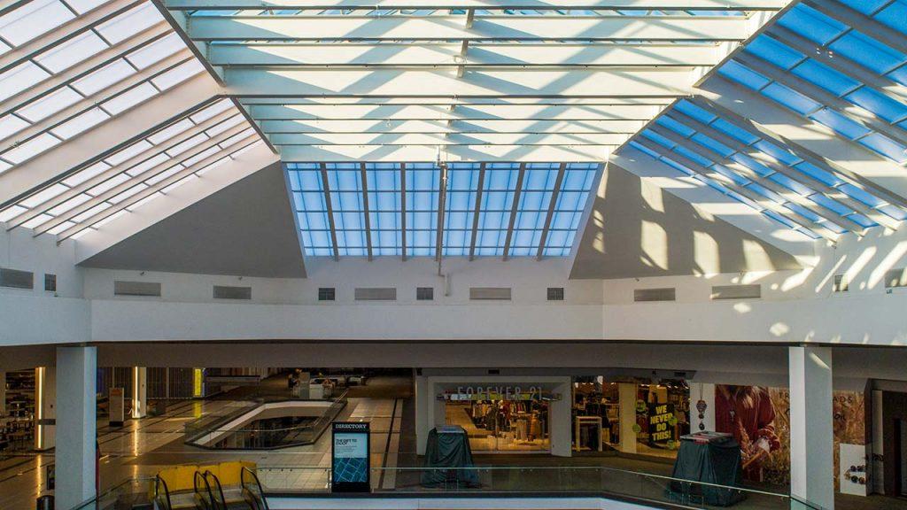 Quaker Bridge Mall atrium skylight 24602-6
