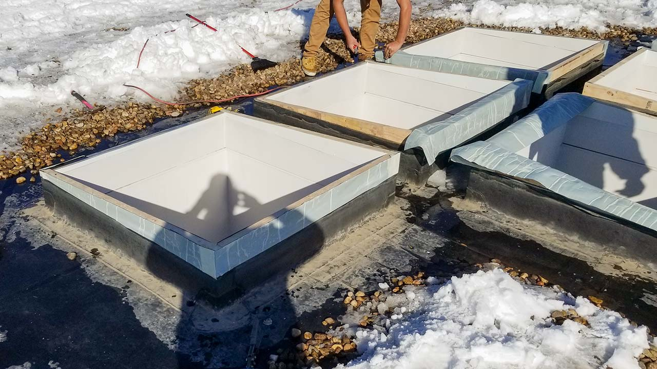 dome skylight replacement 8900-151358