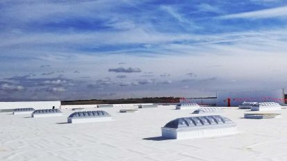 Energy Efficient Triple Dome Skylights