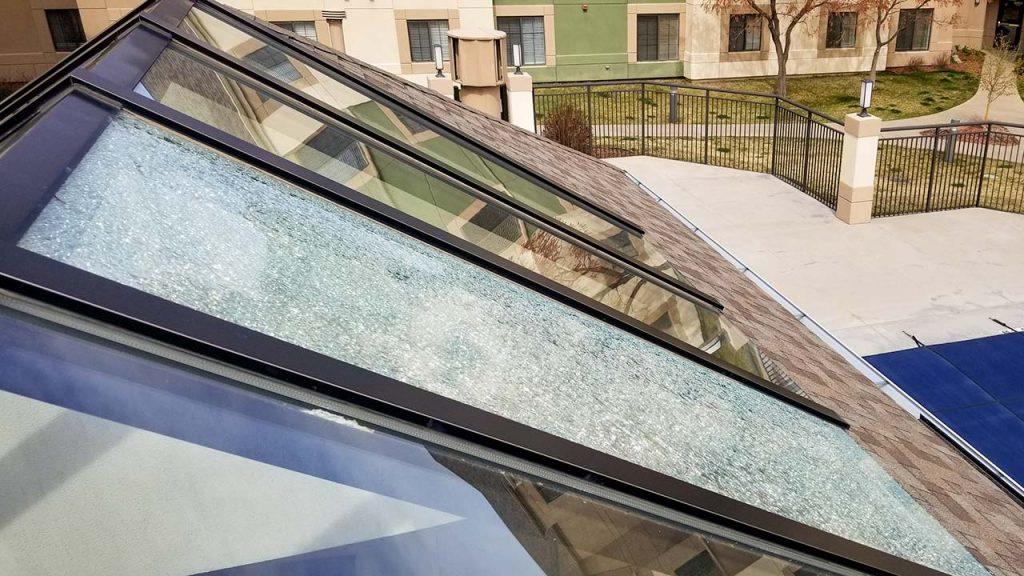 Hyatt House replace glass 30872-4