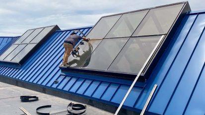 Elementary School Skylight Repair | Parker