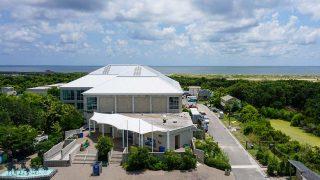 North Carolina Aquarium at Fort Fisher | Roof
