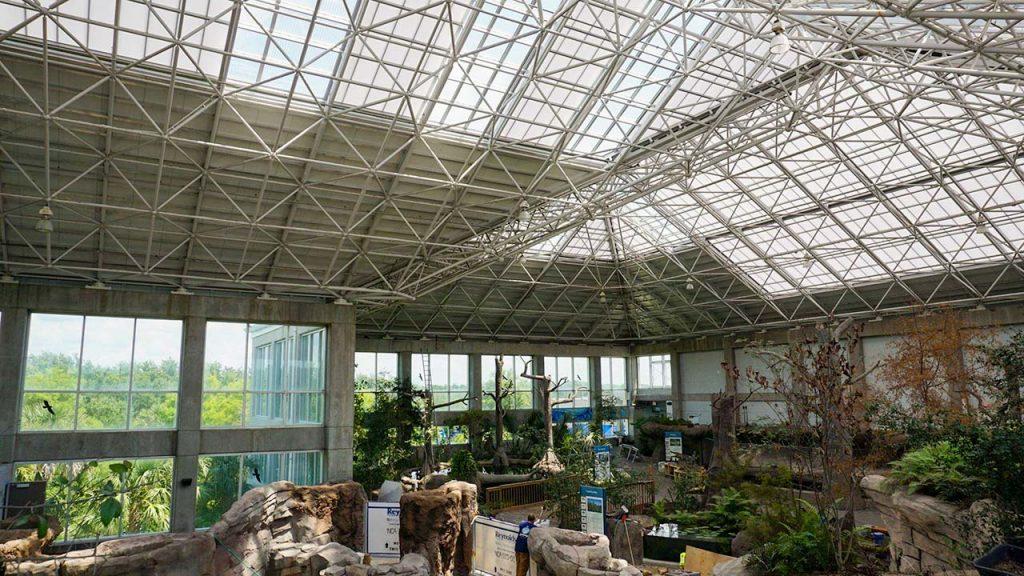 NC Aquarium Ft Fisher skylights 28713-26