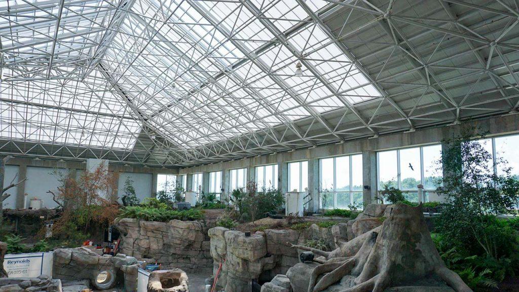NC Aquarium Ft Fisher skylights 28713-29