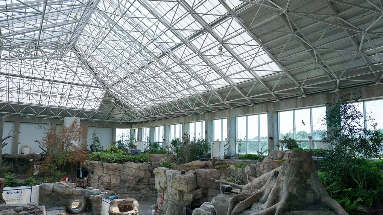 NC Aquarium Ft Fisher skylights 28713-29